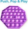 POP IT® Pop It Fidget Toy Paars - Achthoek