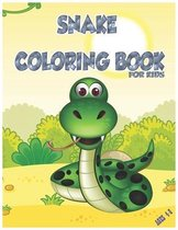 Snake Coloring Book for Kids Ages 4-8