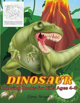 Dinosaur Coloring Books for Kids Ages 4-8