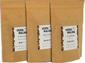 Verse Maling - Proefpakket - De Gouverneur, De Straffe Bak & Itallian Stallion - Koffiebonen - hele bonen - Arabica - Robusta - 2x 250 gr espresso bonen, specialty koffie, lungo