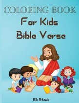 Coloring Book For Kids Bible Verse