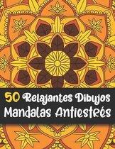 50 Relajantes Dibujos Mandalas Antiestres