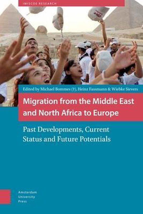 Boek cover Migration from the Middle East and North Africa to Europe van Fassmann, Heinz (Hardcover)