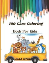 100 Cars Coloring Book For Kids
