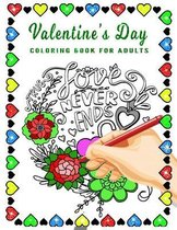 Valentine's Day Coloring Book for Adults: LOVE