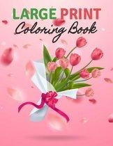 Large Print Coloring Book