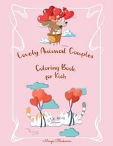 Lovely Animal Couples Coloring Book For Kids