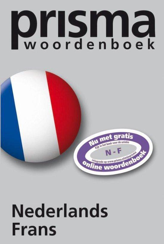 Boek cover Prisma Woordenboek Nederlands-Frans van H.W.J. Gudde (Onbekend)