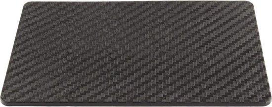 Hypersonic Universele Anti-slip mat 100x150mm - Carbon-Look