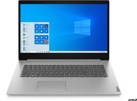 Lenovo IdeaPad 3 Notebook - Laptop - 17.3 inch - Azerty
