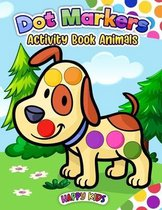 Dot Markers Activity Book Animal