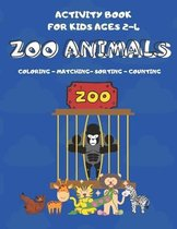 Activity Book For Kids Ages 2-4