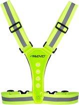 Avento Sport Veiligheidsvest Hardlopen LED - One size - Geel