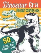 Dinosaur Era-Dinosaur coloring book