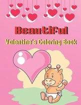 Beautiful Valentine's Coloring Book