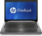 "HP EliteBook Workstation 8770W 17,3"" FullHD laptop refurbished door PCkoophulp, Intel Core i5-3660M 2.8GHz, 8GB, 240GB SSD, NVidia Quadro K3000M, DVD-RW, Windows 10 Pro, B-grade"