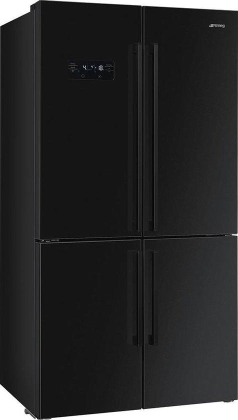 Smeg FQ60NDF - Amerikaanse koelkast - Zwart