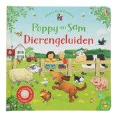 Boek cover Poppy en Sam Dierengeluiden van Sam Taplin