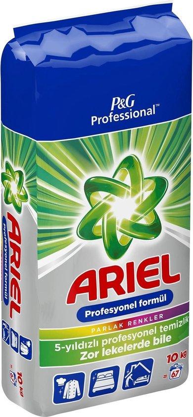 Ariel waspoeder Voordeelverpakking | Tot 330kg was , 10 KG - Ariel Color Waspoeder
