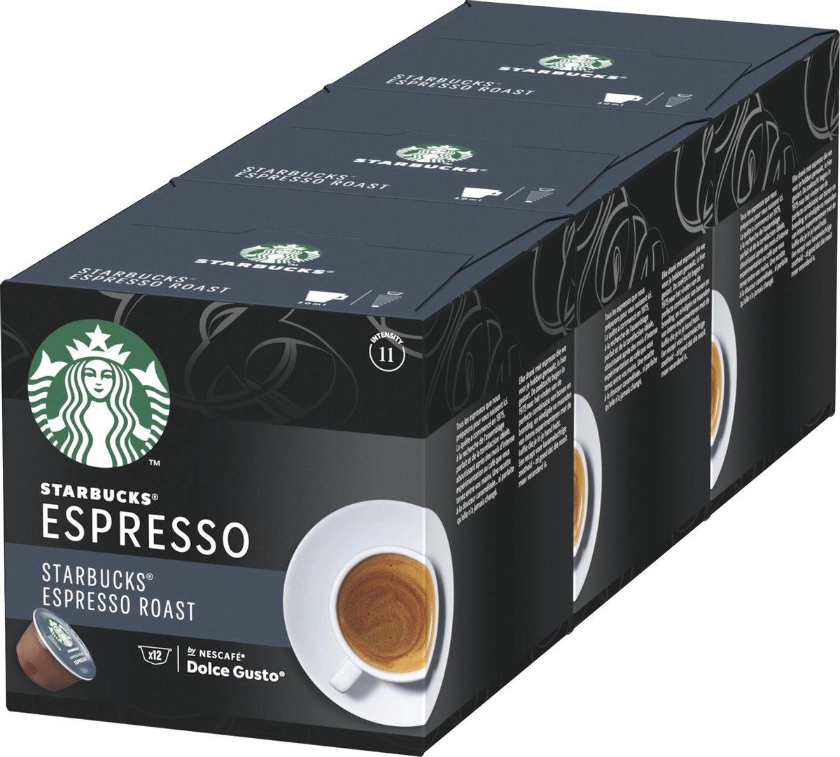 Starbucks by Dolce Gusto capsules Espresso Dark Roast - 36 koffiecups