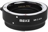 Meike MK-C-AF4 adapter Canon EF/EF-S lens naar Canon EOS-M body