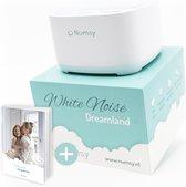 Numsy® Dreamland White Noise Machine Baby - Slaaptrainer - Witte Ruis Machine - Slaaphulp - Baby Muziekdoosje- Witte Ruis Baby