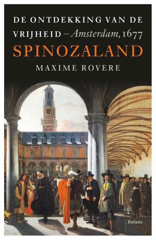 Boek cover Spinozaland van Maxime Rovere (Onbekend)