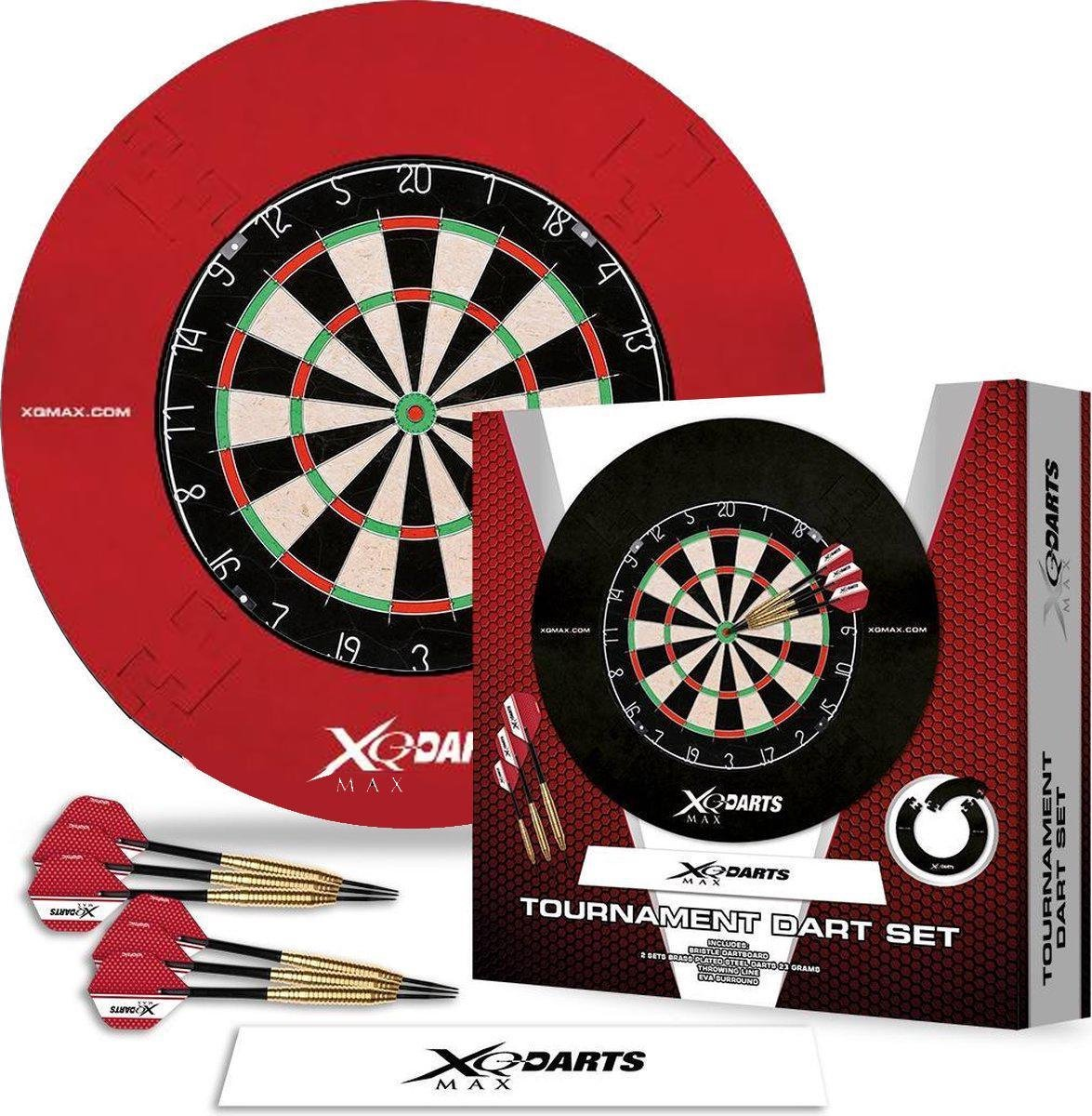 XQmax - Dartbord met 2 sets Dartpijlen en Surround Ring