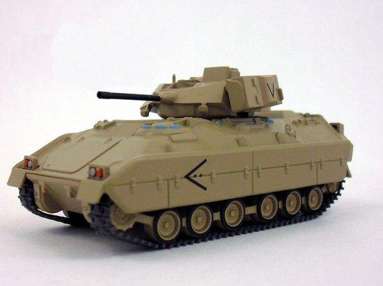 M2 Leger Tank Die Cast 1/72 - Leger - Army - Modelauto - Schaalmodel - Leger model
