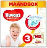 Huggies luiers - Maat 3 - (4 tot 9 kg) - 168 stuks - Voordeelverpakking