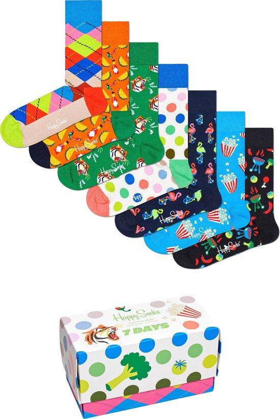 Happy Socks 7 Days Giftbox 7P - Maat 36-40