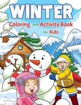 Winter Coloring and Activity Book for Kids