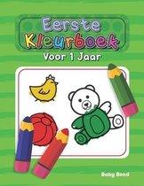 Eerste Kleurboek Voor 1 Jaar