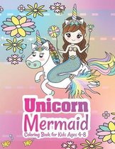 Unicorn Mermaid Coloring Book