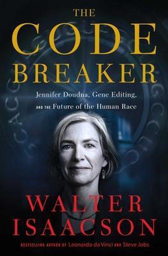 Boek cover The Code Breaker van Walter Isaacson (Hardcover)