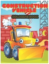 Construction Vehicle abc Coloring Book