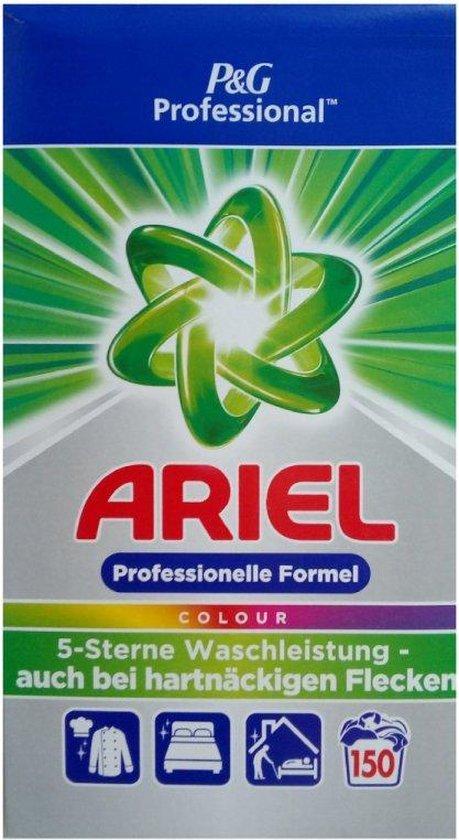 Ariel waspoeder Voordeelverpakking | 150 wasbeurten 9,75 KG - Ariel color Waspoeder | Voor gekleurde was