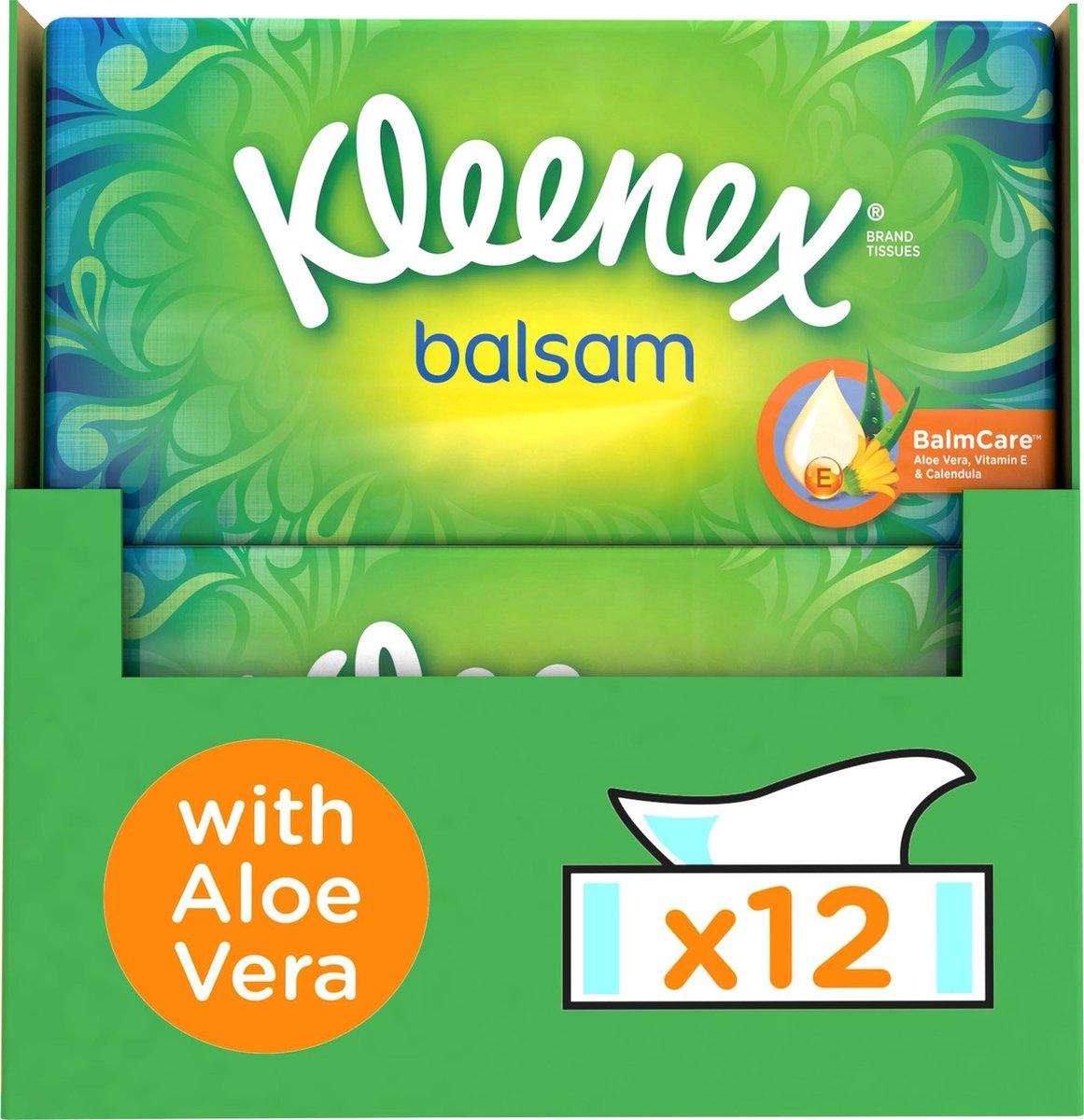 Kleenex tissues - Balsam - Voordeelbox - 864 zakdoekjes