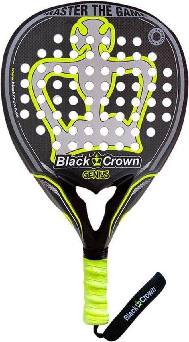 Black Crown Genius (Teardrop) – 2021 padel racket