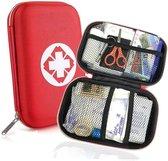 EHBO kit - hard case - compact - 18 delig - reis set