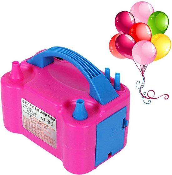 Usta Elektrisch Ballonnenpomp met Dubbele Vulfunctie - Zonder Helium of Waterstof - Ballon Decoratie & Feest Versiering - Ballonnen Pomp - Ballonnenboog Feestartikelen Opblazen