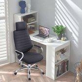 Luxe Ergonomische Bureaustoel met Hoofdsteun & Comfort Foam - Zwart - Bureaustoelen voor volwassenen - Office Chair Ergonomisch - Directiestoel - Gaming Stoel - Gaming Chair - Gaming Bureaustoel - Bureaustoel - Game Stoel - Gamestoel