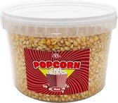 Popcornmais 1,5 KG in afsluitbaar emmertje - Mais voor popcorn