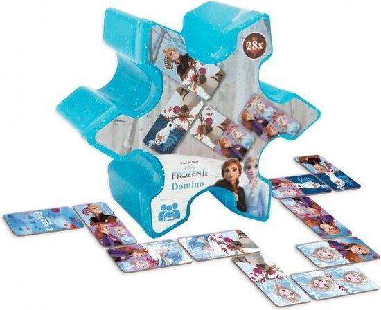 Afbeelding van het spel Frozen II - Domino -  vanaf 3 jaar - 28 Stukje