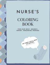 Nurse Coloring Book