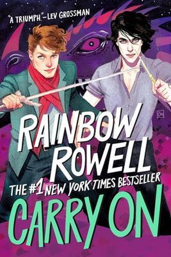 Boek cover Carry on van Rainbow Rowell (Hardcover)