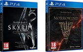 Skyrim Special Edition + The Elder Scrolls Online: Morrowind - PS4