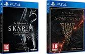Skyrim Special Edition + The Elder Scrolls Online: Morrowind - PS4