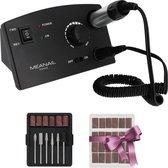MEANAIL® Manicure/pedicure set – Elektrische Vijl - Zwart