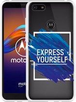 Motorola Moto E6 Play Hoesje Express Yourself